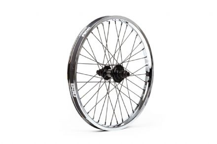 BSD Swerve X Aero Pro Front Wheel - Chrome - LHD